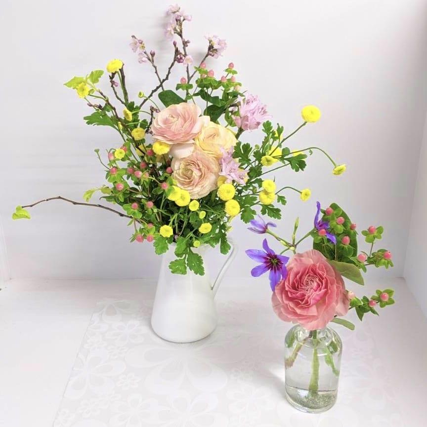 3月お届けのお花